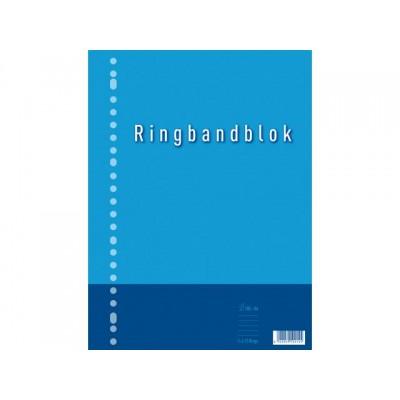 RINGBANDBLOK 23R A4 RUIT 10MM 60GR