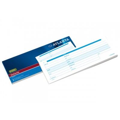 KWITANTIEBLOK A5420-031 105X297MM 100V