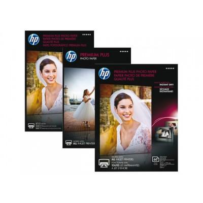INKJETPAPIER HP CR677A 10CMX15CM 300GR PR PLUS GL