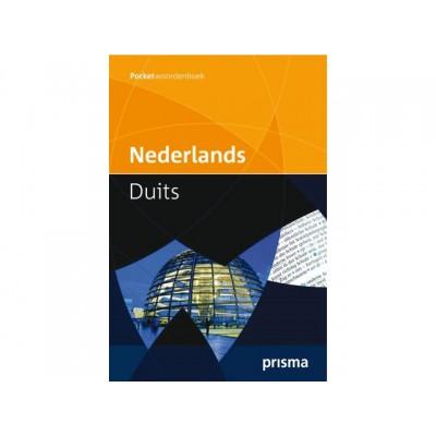 WOORDENBOEK POCKET PRISMA NEDERLANDS-DUITS