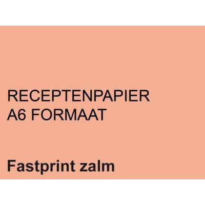 RECEPTPAPIER FASTPRINT A6 80GR ZALM