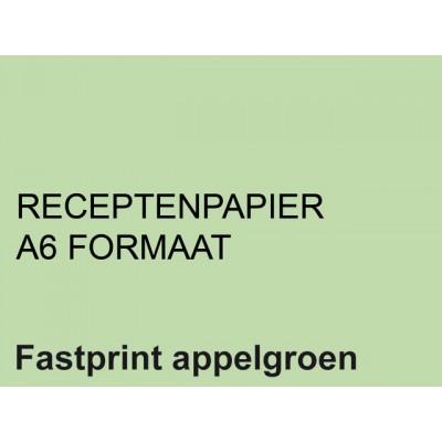 RECEPTPAPIER FASTPRINT A6 80GR APPELGROEN