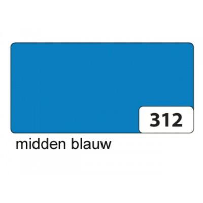 ETALAGEKARTON FOLIA 48X68CM 380GR NR312 MIDBLAUW