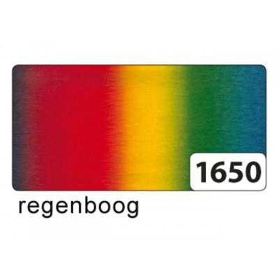CREPEPAPIER FOLIA 250X50CM NR1650 REGENBOOG