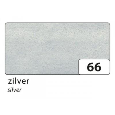 ZIJDEVLOEIPAPIER FOLIA 50X70CM 20G NR 66 ZILVER
