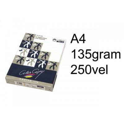 LASERPAPIER COLOR COPY GLOSS COATED A4 135GR WIT