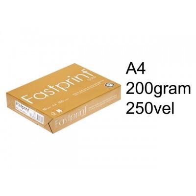 KOPIEERPAPIER FASTPRINT GOLD A4 200GR WIT