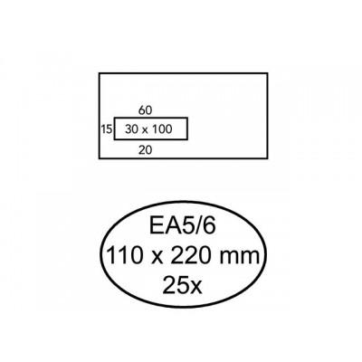 ENVELOP QUANTORE VENSTER VL EA5/6 110X220 80GR ZK