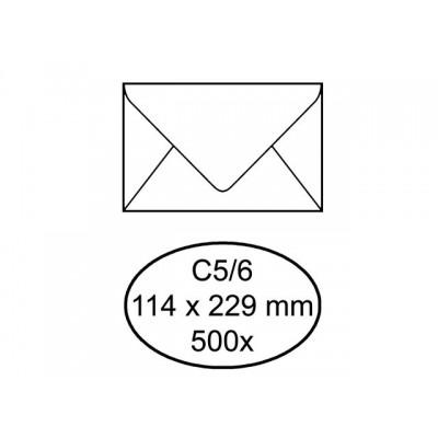 ENVELOP QUANTORE VENSTER C5/6 VR 114X229 80GR ZK WT