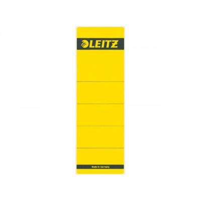 RUGETIKET LEITZ 1642 58X190MM GEEL