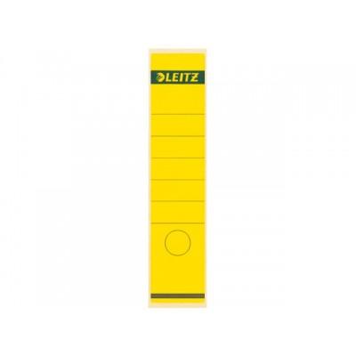 RUGETIKET LEITZ 1640 58X290MM GEEL