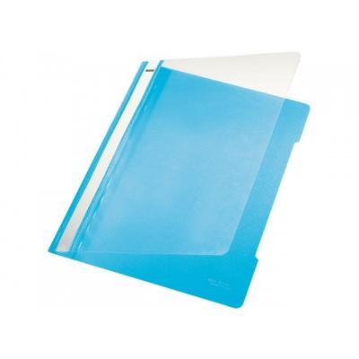 SNELHECHTER LEITZ 4191 A4 PVC LICHT BLAUW