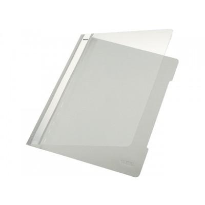 SNELHECHTER LEITZ 4191 A4 PVC GRIJS