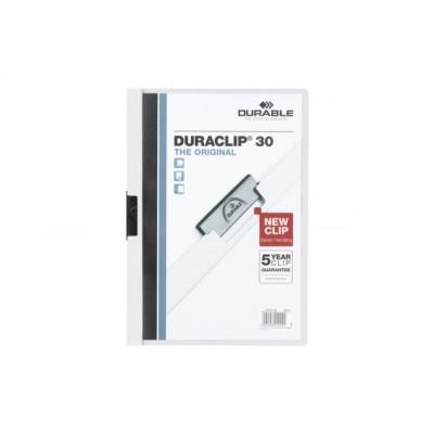 KLEMMAP DURABLE 2200 A4 PL/TR 3MM WIT