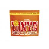 TONY'S CHOCOLONELY TINY MELK KARAMEL ZEEZOUT 180GR