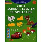 OEFENBOEK DISNEY SCHRIJF-LEES-TELSPELLETJES 4-5JR