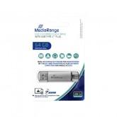 USB-STICK MEDIARANGE 2 IN 1 USB-C 3.0 64GB
