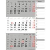 3-MAANDSKALENDER 2021 MANAGER COMPACT NOTES