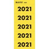 RUGETIKET LEITZ 2021 GEEL