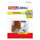 TOCHTSTRIP TESA MOLL 05422 DORPELSTRIP 38MMX1M BRUIN