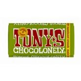 TONY'S CHOCOLONELY MELK HAZELNOOT CRUNCH 180GR