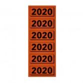 RUGETIKET ELBA 2020 JAARETIKET ROOD