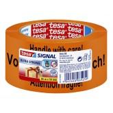TAPE TESA SIGNAAL GB/D/F 50MMX66M ORANJE