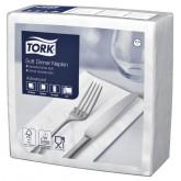 SERVET TORK 39X39CM 477579 SOFT DINNER WIT 100 ST
