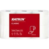 TOILETPAPIER KATRIN CLASSIC 2LAAGS 200VEL 48ROL 77152