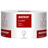TOILETPAPIER KATRIN CLASSIC 2LAAGS JUMBO S2 12ROL 106108