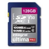 GEHEUGENKAART INTEGRAL SDHC V30 128GB
