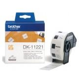 LABEL ETIKET BROTHER DK-11221 23MMX23MM WIT