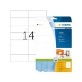 ETIKET HERMA 5057 105X42.3MM PREMIUM A4 350ST