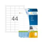 ETIKET HERMA 5051 48.3X25.4MM PREMIUM A4 1100ST