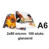 LAMINEERHOES GBC A6 2X80MICRON