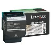 TONERCARTRIDGE LEXMARK C540H1KG PREBATE 2.5K ZWART
