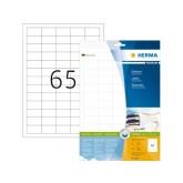 ETIKET HERMA 8629 38.1X21.2MM PREMIUM A4 650ST WIT