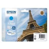 INKCARTRIDGE EPSON T702240 HC BLAUW