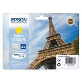 INKCARTRIDGE EPSON T702440 HC GEEL