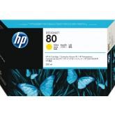 INKCARTRIDGE HP 80 C4848A GEEL