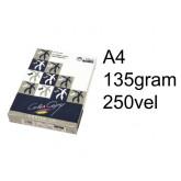 LASERPAPIER COLOR COPY SILK COATED A4 135GR WIT
