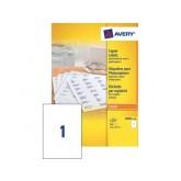 ETIKET AVERY DP001-100 210X297MM 100ST
