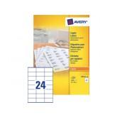 ETIKET AVERY DP246-100 70X36MM 2400ST