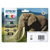 INKCARTRIDGE EPSON T24384010 HC ZWART + 5 KLEUR
