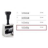 NUMEROTEUR REINER B2 13043 METAAL 6 RADEER 5.5MM