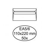 ENVELOP QUANTORE BANK EA5/6 110X220 80GR ZK WIT