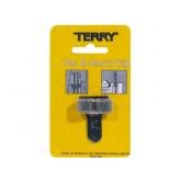 TERRY CLIP VOOR 2 PEN/POTLOOD