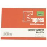 CORRESPONDENTIEKAART SIGEL EXPRES A6 IVOORKARTON