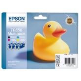 INKCARTRIDGE EPSON T055640 ZWART 3 KLEUREN