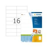 ETIKET HERMA 4462 105X37MM PREMIUM A4 1600ST